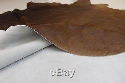 Natural Brown Cowhide Rug Large 30 sq. Ft Genuine Cowskin Area Rug Grand Sale