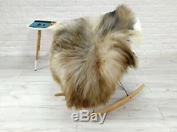 Real Icelandic Sheepskin Rug Chair Sofa Floor Cover Soft Hide Skin Large G216